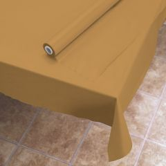 Gold Plastic Tablecover Rolls