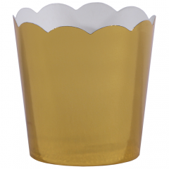 Gold Metallic Cup