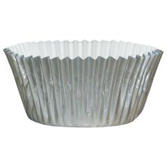 4.5 in Silver Foil Baking Cups 2000 ct.