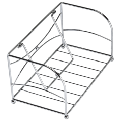 9.25 in x 5 in Chrome Guest Towel Holder 1 ct.