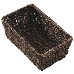 10 in x 6.25 in x 4.25 in Seagrass Guest Towel Basket 1 ct.