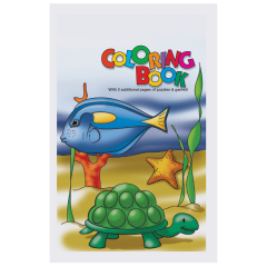 8.5 in x 5.5 in Kids Coloring Books 100 ct.