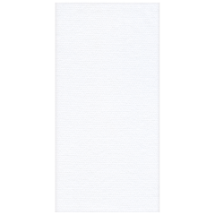 8.5 in x 4.25 in Linen-Like Select White Dinner Napkins 300 ct.