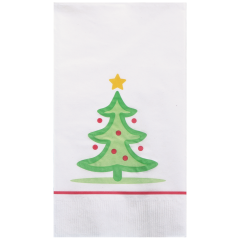 7.5 in x 4.25 in Whimsical Tree Dinner Napkins 1000 ct.