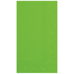 7.5 in x 4.25 in Regal Embossed Fresh Lime Green Dinner Napkins 1000 ct.