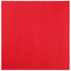 16 in x 16 in Linen-Like Red Dinner Napkins Flat Pack 500 ct.
