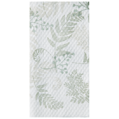 8.5 in x 4.5 in Nature's Greens EarthWise Guest Towels 1000 ct.