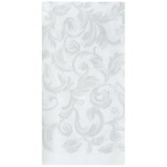 8.5 in x 4.25 in Printed Linen-Like Guest Towels 500 ct.