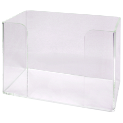 "9"" x 7"" Clear Guest Towel Holder"