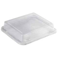 9 in x 8.25 in EarthWise Tree Free Clear Lids 250 ct.