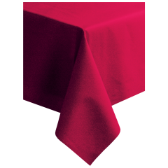 50 in x 108 in Linen-Like Red Tablecloths 20 ct.