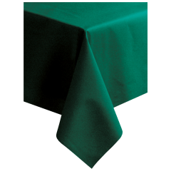 50 in x 108 in Linen-Like Hunter Green Tablecloths 20 ct.