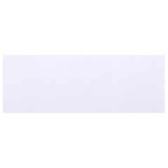 1.5 in x 4.25 in White Adhesive Napkin Bands 5000 ct.