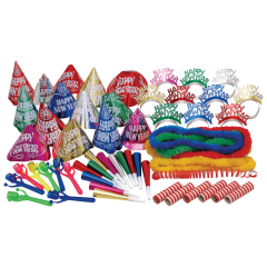 Assorted New Year's Multicolor Party Kit 1 ct.