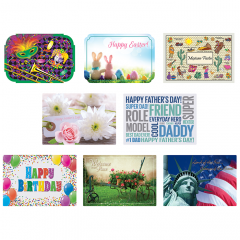 Spring & Summer Seasonal Variety Pack Placemats
