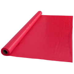 40 in x 100 ft Red Plastic Table Roll 1 ct.