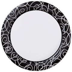 7 in Printed Dessert Plates 200 ct.
