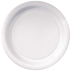 7 in White Dessert Plates 1000 ct.