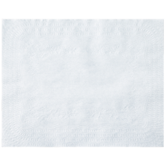 12 in x 18 in White Lightweight Paper Traymats 1000 ct.