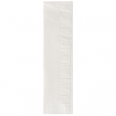 8.25 in x 2.25 in Coin Embossed White Trimline Dinner Napkins 1000 ct.