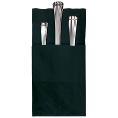 Black Quickset® Dinner Napkins