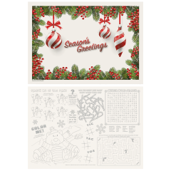 Seasonal Activity Placemats