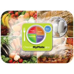 Nutrition & Health Printed Traymats