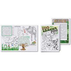 7 in x 10 in Kids' Activity Booklet 500 ct.