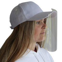 CapVisor Baseball Cap Protective Face Shields 100 ct.