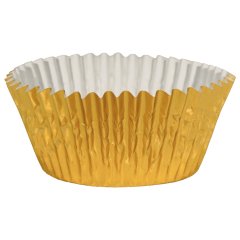4.5 in Gold Foil Baking Cups 2000 ct.