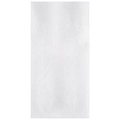 8.5 in x 4.25 in Linen-Like White Dinner Napkins 300 ct.