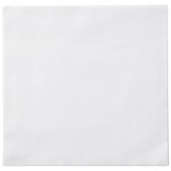 8.5 in x 8.5 in White Linen-Like Dinner Napkins 300 ct.
