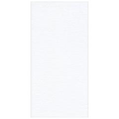 8.5 in x 4.25 in Linen-Like Select White Dinner Napkins 300 ct.