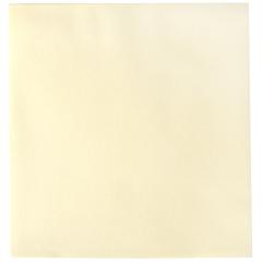 8 in x 8.5 in Linen-Like Ecru Ivory Dinner Napkins 300 ct.