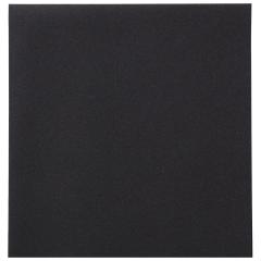 8 in x 8.5 in Linen-Like Black Dinner Napkins 300 ct.