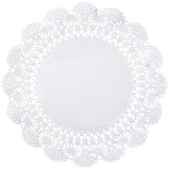 10 in White Cambridge Lace Doilies