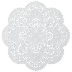 12 in White French Lace Doilies 1000 ct.