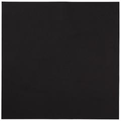 16 in x 16 in Linen-Like Black Dinner Napkins Flat Pack 500 ct.