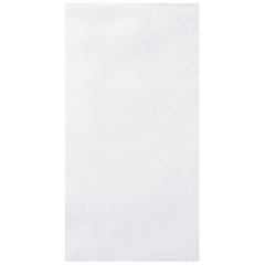 8.5 in x 4.25 in White Linen-Like Guest Towels 300 ct.