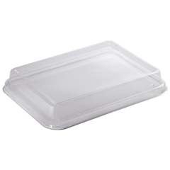 11 in x 8.5 in EarthWise Tree Free Lids for Catering Box 200 ct.