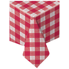 50 in x 108 in Printed Linen-Like Airlaid Tablecovers 24 ct.