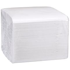 6.5 in x 6.5 in Linen-Like White Refill Napkins 200 ct.