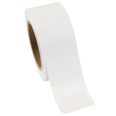 1.5 in x 4.25 in Wrap'nRoll White Adhesive Napkin Bands 5000 ct.