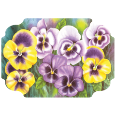 10 in x 14 in Floral Printed Placemats 1000 ct.