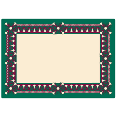 10 in x 14 in Traditional Printed Placemats 1000 ct.