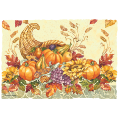 10 in x 14 in Seasonal Printed Placemats 1000 ct.