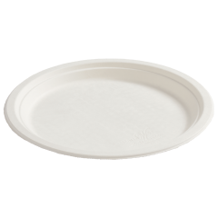 10.25 in EarthWise White Plates 500 ct.