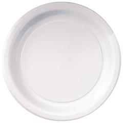 7 in White Dessert Plates 1000 ct.