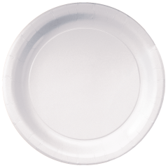 9 in White Paper Plates 500 ct.