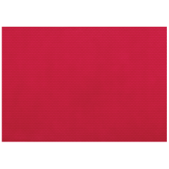 11 in x 16 in Red Pebble-Embossed Plastic Placemats 250 ct.